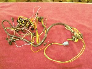 1961 1962 Mercury Comet Under Dash Main Wiring Harness Nos C1gf 14401 a