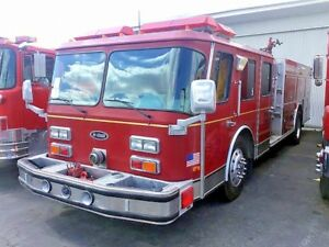 1989 Federal Hush Pumper Fire Truck Farm Ranch Safety Equipment
