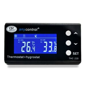 Thc 220 Digital Temperature And Humidity Controller Regulator Hygrothermostat