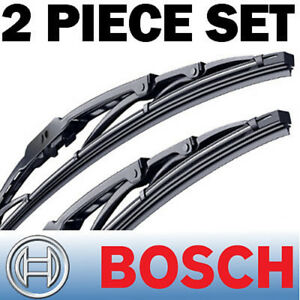 2pc Genuine Bosch Wiper Blades Direct Connect Size 24 20 Front Left And Right