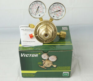 Victor Sr450d Professional Series Gas Regulator 5 To 125 Psi Oxygen 3 500