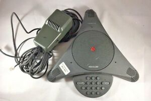 Polycom Soundstation 2201 03308 001 F analog Conference Phone W ac Free Ship B8