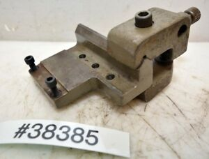 South Bend Lathe Offset Micrometer Carriage Stop Mount 10 Lathe inv 38385