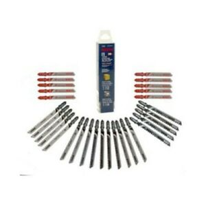 Bosch T30c 30 Piece Wood metal Jigsaw Blades Set