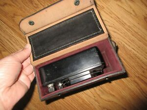 Vintage U s Army Westinghouse Pa 14 Volts Ac Meter With Leather Case