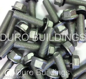 Duro Steel Building 100 Count 5 16 X 1 25 New Arch Grain Bin Bolt nut