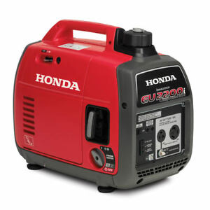 Honda Generator Inverter Eu2200i Companion Ultra Quiet 2200 Watts 30 Amp