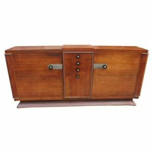 Masterpiece French Art Deco Sideboard Palissander By Dominique Circa 1930s
