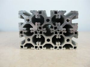 Lot Of 6 80 20 Inc T slot Aluminum Extrusion 15 Series 1515 lite 1 5x1 5x20