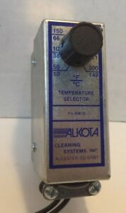 Alkota Cleaning Systems Hvac Temperature Control P n F4 00818
