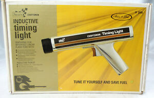 Sears Craftsman Inductive Timing Light With Box 28 2134