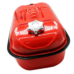 Car Motorcycle Suv Atv Portable Fuel Tank Cans Storage Container Red 10l