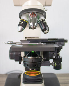 Asbestos Microscope Refurbished Nikon Alphaphot Ys2 With Phase Contrast