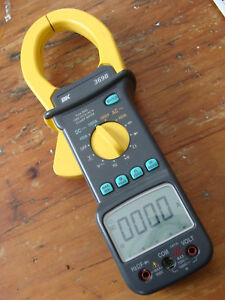 Bk Precision 369b Digital Clamp Meter Used Good Condition