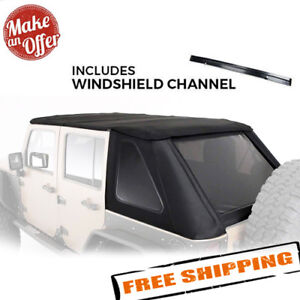 Smittybilt Bowless Combo Replacement Soft Top For 2007 2018 Jeep Jk Wrangler 4dr