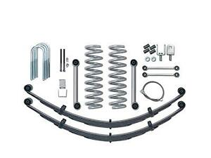 Rubicon Express 3 5 Lift Kit W Rear Leaf Springs 1984 2001 Jeep Cherokee Xj