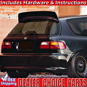 1992 1993 1994 1995 Honda Civic 3dr Hatchback Spoon Bys Style Spoiler Unpainted