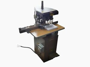 Challenge Heavy Duty Industrial 3 hole Hydraulic 1hp Paper Drill Eh3a 208 230v