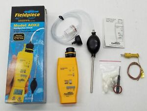 New Fieldpiece Aox2 Combustion Check Accessory Head Meter W Thermocouple