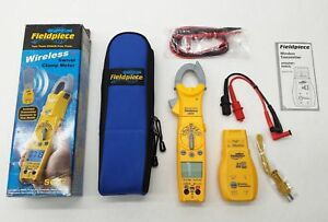 New Fieldpiece Sc57 Hvacr Wireless Swivel Head Clamp Meter et2w Transmitter