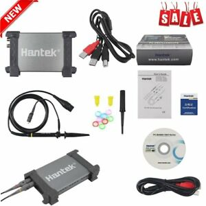New Hantek 6022be Pc based Usb Digital Storag Oscilloscope 2 Channels 48msa s Hs