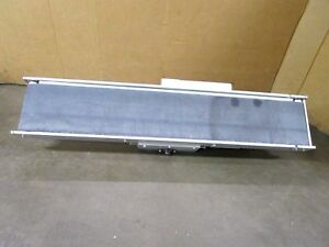 No Name 7 1 2 X 45 1 2 1 4hp Flat Belt Variable Speed Conveyor 120v 80 575fpm