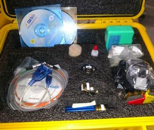 Fiber 320x Microscope With Lots Of Accessories And Very Nice Pelican Case q10