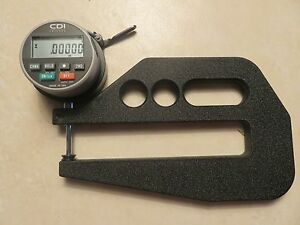 Usa Made 1 Digital Depth Gauge Indicator Cdi Chicago Dial Starrett Rule