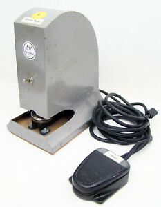 Art Electraseal D 1 Electric Embosser Sealer Machine Notary Public Foot Pedal