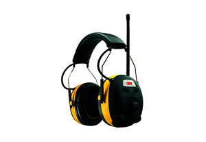 Hearing Protection With Radio Headphones Shooting Safety Work Mp3 Compatible Job