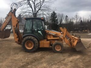 2001 Case 590 Super M 4wd Tractor Loader Backhoe Extendahoe