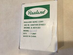 Rauland Responder Rs505 Nurse Call Intercom Speaker nos