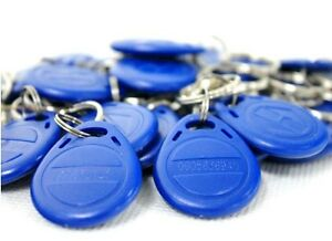 For Access Control Use 50pcs125khz Rfid Proximity Id Card Keyfobs Blue Color