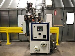 Formax Hot Air Dryer W 220lb Hopper Receiver For Plastic Injection Molding