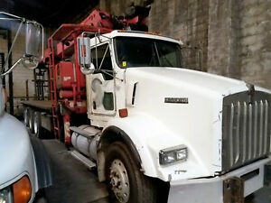 2004 Kenworth W fassi F390se With 91 Tip Height Roofing trees fdtns