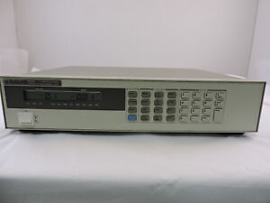 Agilent 6063b Dc Electronic Load 90 Day Warranty