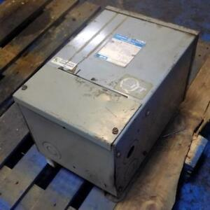 General Electric Single Phase 240x480 To 120 240v 10kva Transformer 9t21b1006g4