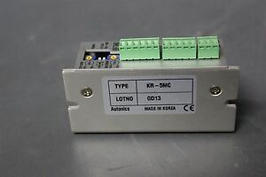 Autonics Stepper Motor Drive Kr 5mc