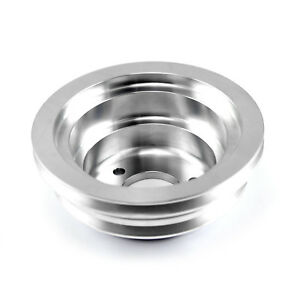 Chevy Bbc 454 Billet Aluminum Long Water Pump Lwp 2 Groove Pulley