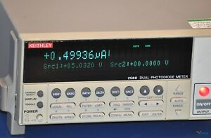 Keithley 2500 Dual Photodiode Meter Smu sourcemeter Nist Calibrated Warranty