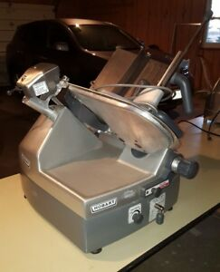 Hobart 2912 Automatic 6 speed 12 Meat Cheese Deli Slicer Butcher Instructions