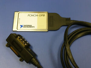 National Instruments Pcmcia gpib Interface Card With Cable
