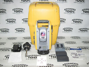 Trimble S6 Dr 300 Plus 5 Robotic Total Station W Prism Charger Case 2 4ghz