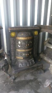 Antique Cast Iron Parlor Stove