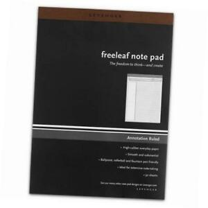Freeleaf Annotation Ruled Pads Letter Pack Of 5 ads5580 Ltr