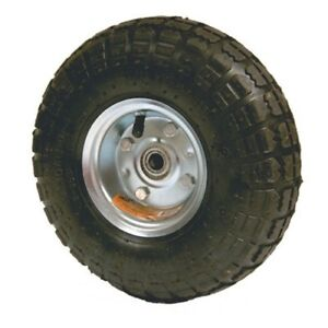 Replacement 10 Rubber Air Filled Wheel Tire For Hand Truck Dolly Or Cart