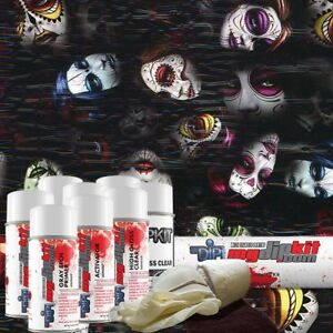 Hydro Dipping Water Transfer Printing Hydrographic Dip Kit Day Of Dead Dd 929
