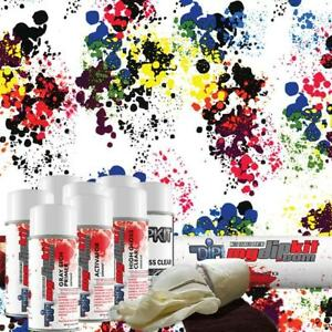 Hydro Dipping Water Transfer Printing Hydrographic Dip Kit Paint Splatter Dd 967