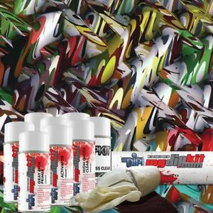 Hydro Dipping Water Transfer Printing Hydrographic Dip Kit Deco Weave Dd 956