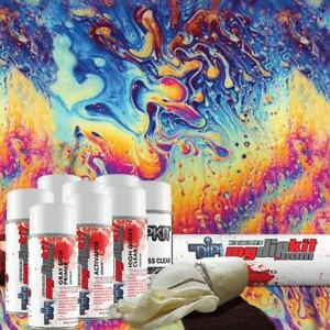 Hydro Dipping Water Transfer Printing Hydrographic Dip Kit Oil Slick Dd 301